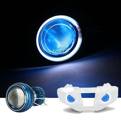 $41.99 • Buy Angel Eye Blue Demon Light Headlight For Suzuki GSX-R600 GSX-R750 2001 2002 2003