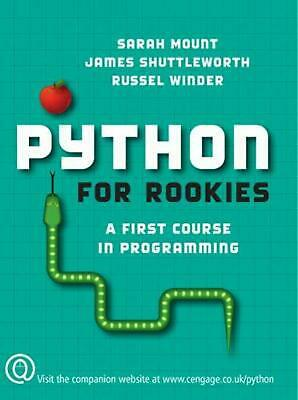 AU118.67 • Buy Python For Rookies: A First Course In Programming By Sarah Mount (English) Paper