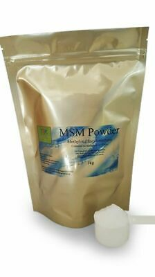 AU99 • Buy Pure MSM Powder  2kg HighestQuality HumanGrade Vegan No Filler Additives Gluten