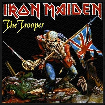 £4.25 • Buy Official Licensed - Iron Maiden - The Trooper Sew On Patch Metal Eddie