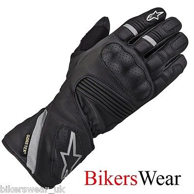 £74.99 • Buy Alpinestars WR-3 GTX Gore-Tex Leather Waterproof Motorcycle/Scooter Gloves S