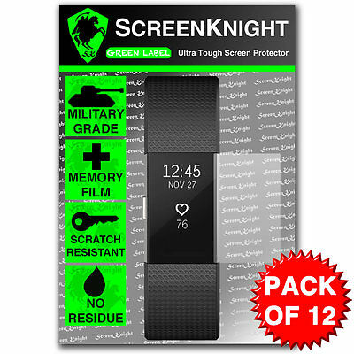 $ CDN8.56 • Buy Screen Protector - For Fitbit Charge 2/ii - Pack Of 12 - Screenknight