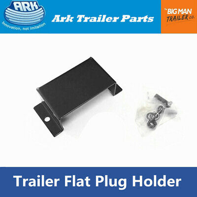 AU14.99 • Buy Ark Trailer 7 Pin Flat Trailer Plug Holder Bolt-on DrawBar Mounting Bolts UB