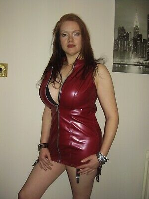 £74.99 • Buy The Federation Rubber Suspender Zip Dress All Sizes Made