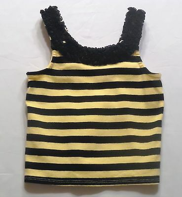 $12.99 • Buy Gymboree  Bee Chic  Bumbble Bee Striped Ruffled Tank Top, 3T