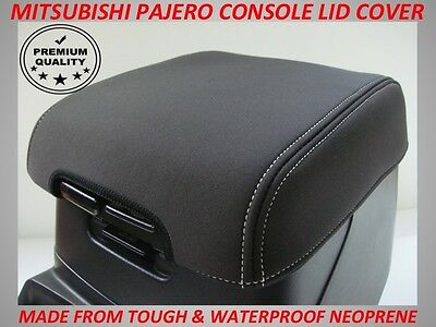 AU48.50 • Buy Mitsubishi Pajero Neoprene  Console Lid Cover (wetsuit Material) 2000 - Current
