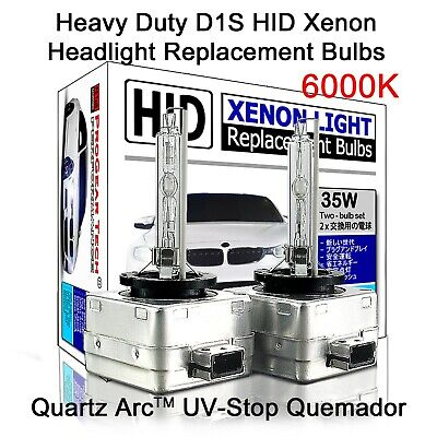 AU47.20 • Buy # 6000K Heavy Duty D1S D1R OEM HID Xenon Headlight Replacement Bulbs (Pack Of 2)