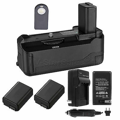 AU105.58 • Buy Vivitar Battery Grip For Sony A6000 + 2x NP-FW50 Battery + AC/DC Charger
