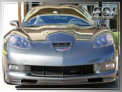 $399 • Buy Carbon Fiber Front Bumper Lip For 2005-2013 Chevrolet Chevy Corvette C6 Z06 ZR1