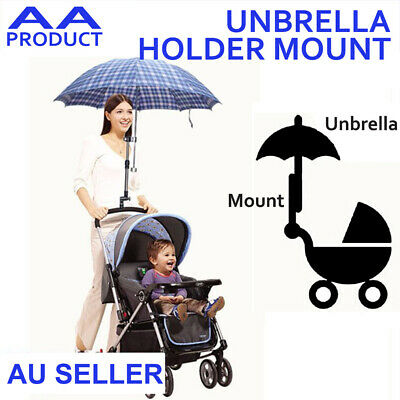 AU13.49 • Buy Umbrella Holder Mount Stand Handle For Baby Pram Bicycle Stroller Chair