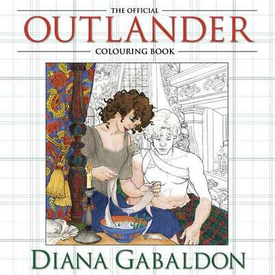 AU36.15 • Buy The Official Outlander Colouring Book By Diana Gabaldon (English) Paperback Book