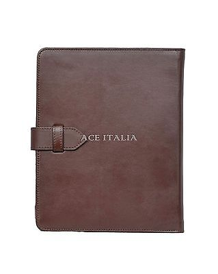 $35.41 • Buy Cover Case Stand IPAD 2 3 & 4 BROWN Washed Lambskin Luxury Real Genuine Leather