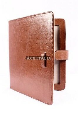 $35.41 • Buy Cover Case Stand IPAD 2 3 & 4 Tan Nappa Lambskin Luxury Real Genuine Leather