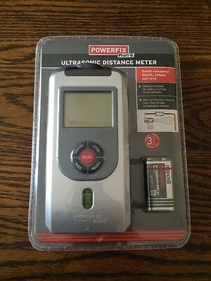Powerfix Profi Multi Ultrasonic Distance Meter Laser • 12.99£