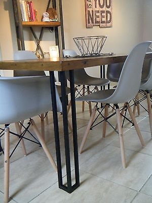 Metal Table Legs (Black) (Upcycling) Hairpin Legs.  • 30£