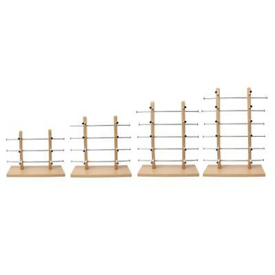 AU39.30 • Buy Wooden Sunglasses Rack Display Eye Glasses Stand Holder Organizer Silver 4 Types