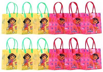 Dora The Explorer Party Favor Goodie Gift Bag - 6  Small Size (12 Packs) • 9.59£