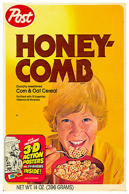 $11.45 • Buy VINTAGE HONEYCOMBS CEREAL POSTER 12  X 18