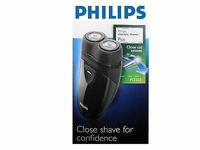 Philips Hair Electric Shaver Plus Battery Operated PQ203 NEW  • 24.95£