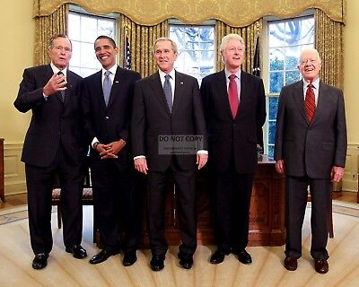 $7.98 • Buy George W. Bush With Barack Obama And Former Presidents - 8x10 Photo (zy-634)