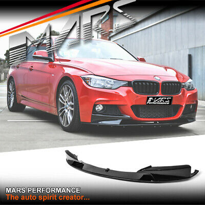 AU299.99 • Buy Gloss Performance Style Bumper Bar Lip Spoiler For BMW 3-Series F30 F31 M Sport