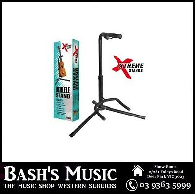 AU24.99 • Buy Xtreme Ukulele Stand Tripod Heavy Duty EVA Foam Rubber Protection