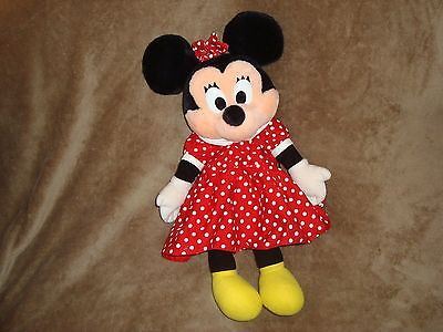 Minnie Mouse Red Polka Dot Dress Disney Mickey's Stuff For Kids Plush Backpack  • 17.10£