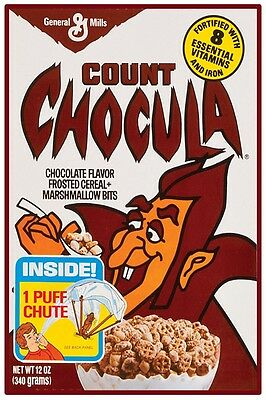 $11.45 • Buy VINTAGE COUNT CHOCULA CEREAL POSTER 12  X 18