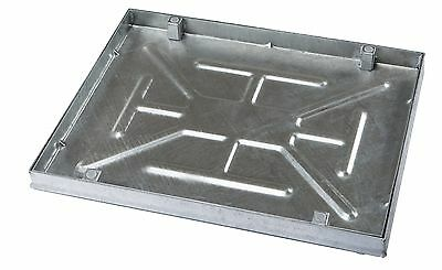 600 X 450 X 43.5mm Sealed & Locking Internal Recessed Manhole Cover :: All Steel • 95.10£