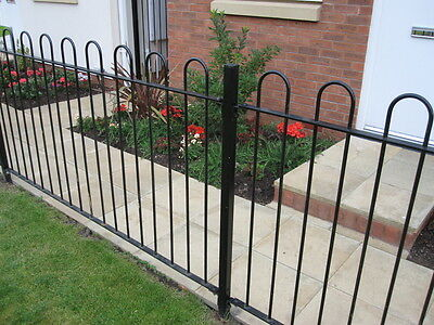£21 • Buy Bow Top Railing Hoop Top Fencing Panels Posts Prefabricated Or Components Only