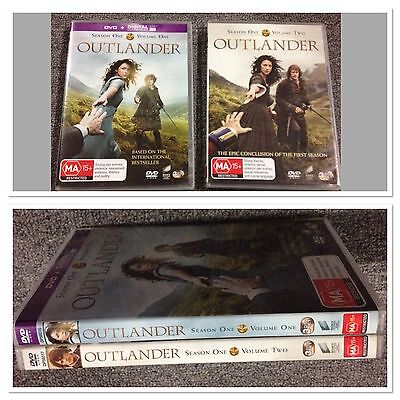 AU54.99 • Buy Outlander DVD Complete Season 1 Volume One + Two (1-2) Aus Seller