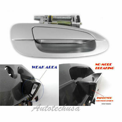 $19.78 • Buy For NISSAN ALTIMA Outside Front Right KY1 Silver B3766 MotorKing Door Handle