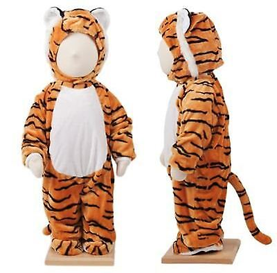 Baby Tiger Tiny Fancy Dress Costume Safari Infant Toddler Animal Jungle Outfit • 9.60£