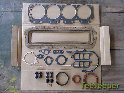 $85 • Buy New Engine Gasket Overhaul Complete Set Jeep M151 A1 A2