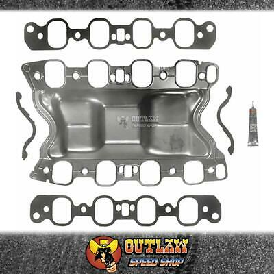 AU52.90 • Buy Felpro Intake Gasket Bathtub Set Fits Ford Cleveland 351 4v Heads - Fems96012