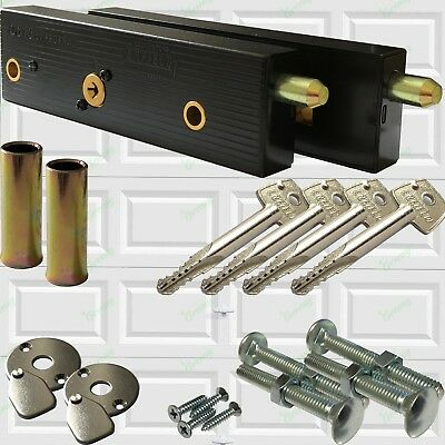 £31 • Buy Enfield Genuine Garage Door Bolts Lock Up And Over One Pair 2020 LQQK Now 4 Keys