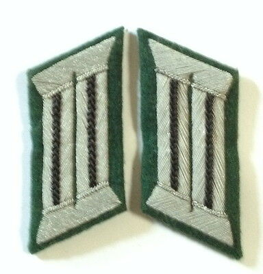 Ww2 German Army Officer Collar Tabs Pioneers/engineers • 10.79£