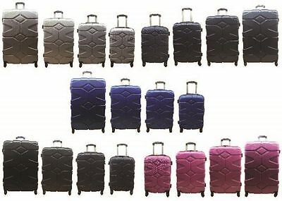 20  24  28  32  4 Wheel Spinner Hard Shell Suitcase Luggage Case Trolley Cabin • 29.95£