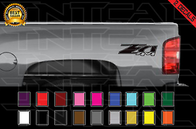 $11.87 • Buy Z71 4x4 Decal Set 2007 2008 2009 2010 2011 2012 2013 Chevy GMC Vinyl Sticker X2