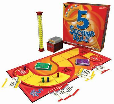 AU31.20 • Buy 5 Second Rule Board Game - University Games Free Shipping!