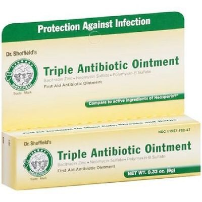 £4.21 • Buy 1 - Dr. Sheffield's Triple Antibiotic Ointment First Aid .33 Oz Tube Neosporin