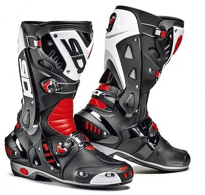 £239.99 • Buy SIDI Vortice Red/White/Black SPORTS Motorcycle/Motorbike Boots Ideal For Track