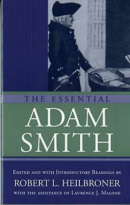 AU45.59 • Buy The Essential Adam Smith By Adam Smith (English) Paperback Book Free Shipping!