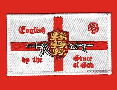 England Patch English By The Grace Of God • 3.49£