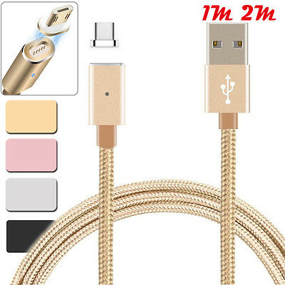 $ CDN5.32 • Buy 2.4A HIGH SPEED Micro USB Charging Cable + Magnetic Adapter For Samsung Android