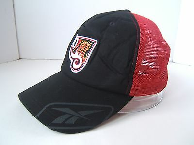 $ CDN100 • Buy Rhein Fire Football Hat NFL Europe Reebok Snapback Mesh Trucker Baseball Cap