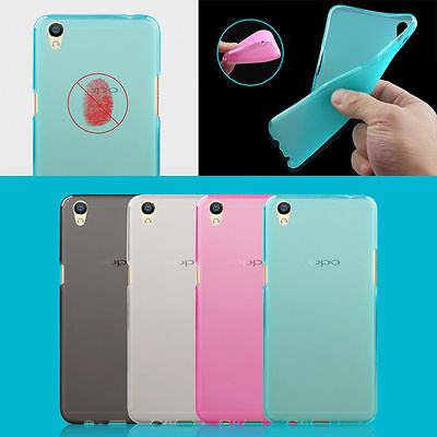AU3.99 • Buy TPU Gel Silicone Soft Matte Jelly Grip Back Case Skin Cover For OPPO Models