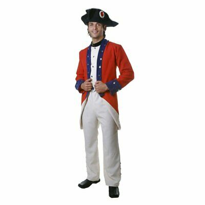 $37.49 • Buy Adult Colonial Soldier Costume By Dress Up America