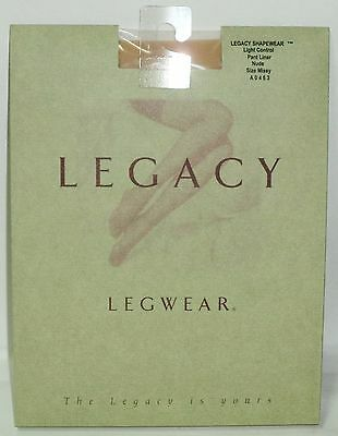 1 LEGACY Legwear Pantyhose Light Control Pant Liner MISSY 5'3 To 6' 120/170 NUDE • 4.34£