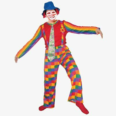 $32.99 • Buy Jolly Laughing Clown Costume By Dress Up America